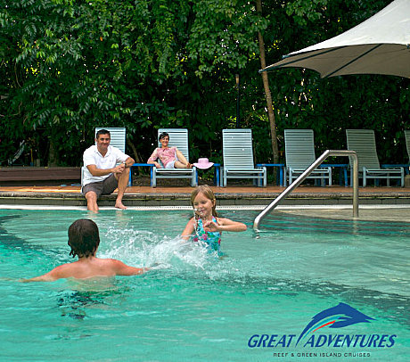Exclusive use of island swimming pool for Great Adventures guests