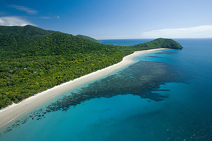 Cape Tribulation where the rainforest meets the reef