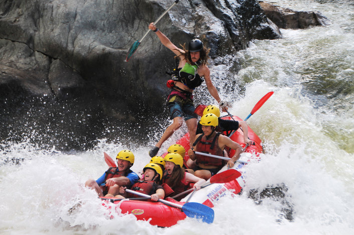 Foaming Fury - White Water Rafting