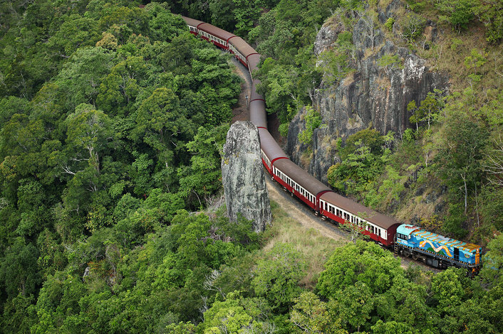 Kuranda Scenic Railway at Robb's Monument