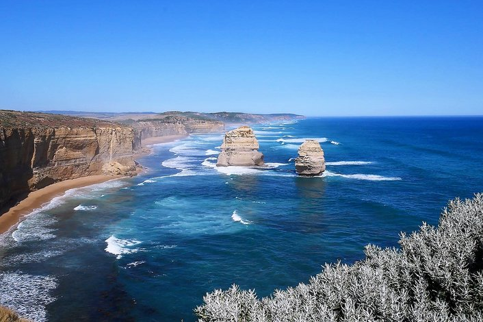 Gog & Magog in the Port Campbell National Park