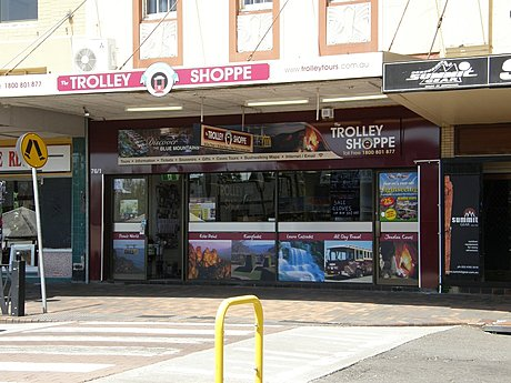 Trolley Shop in Katoomba