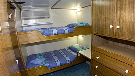 Club Cabin on board Spoilsport - Mike Ball Dive Expeditions