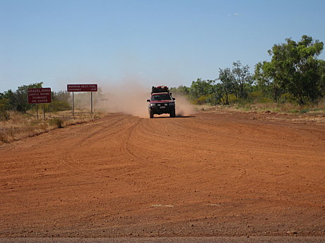 Driving in the Northern Territory
