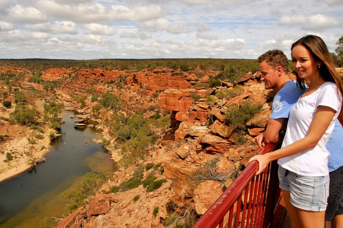 Z-Bend Kalbarri National Park