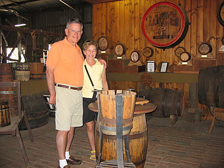 Cooperage, (the art of barrel making)
