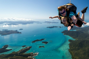 tandem Skydiving at the Whitsundays