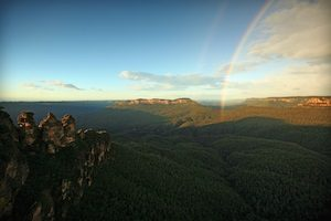 Sunrise at Blue Mountains