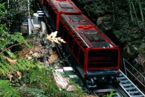 Scenic World train