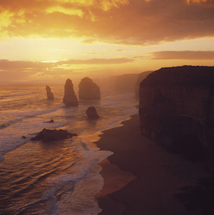 Sunset over the 12 Apostles