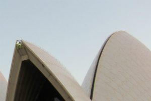 Image of 2 sails of the Opera House