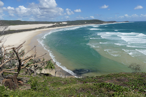 The view from Indian Head on Fraser Island