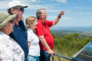 Group at Mt Lofty lookout