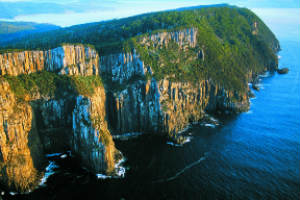 Sea Cliffs at Bruny Island