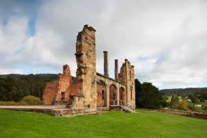 Ruins at Port Arthur
