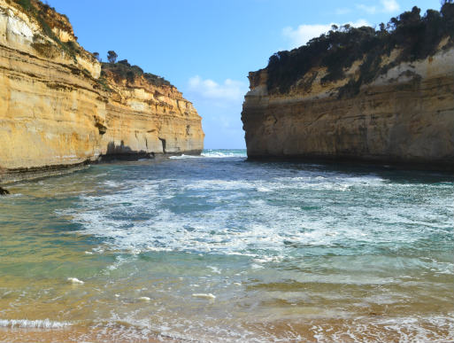 loch Ard Gorge along the Great Ocean Road