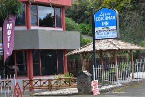 Street view of lorne Coachman Inn, Great Ocean Road