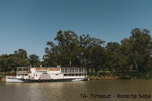 Boat on the Murray