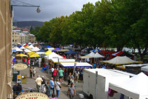 Salamanca Markets Hobart