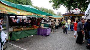 Stalls at Salamanca Markets Hobart Tasmania
