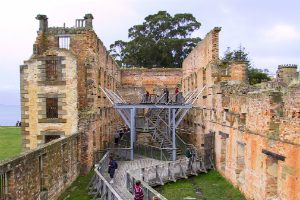 Restoration of Building at Port Arthur Tasmania