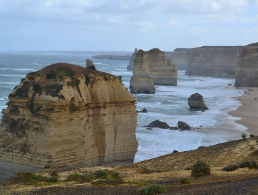 beach view along 12 Apostles