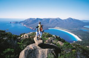 View from Wineglass Bay Lookout