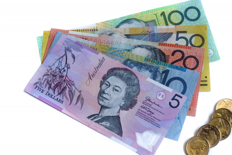 Australian notes from $5 to $100