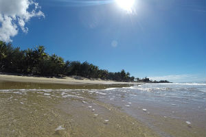 Four Mile Beach at Port Douglas