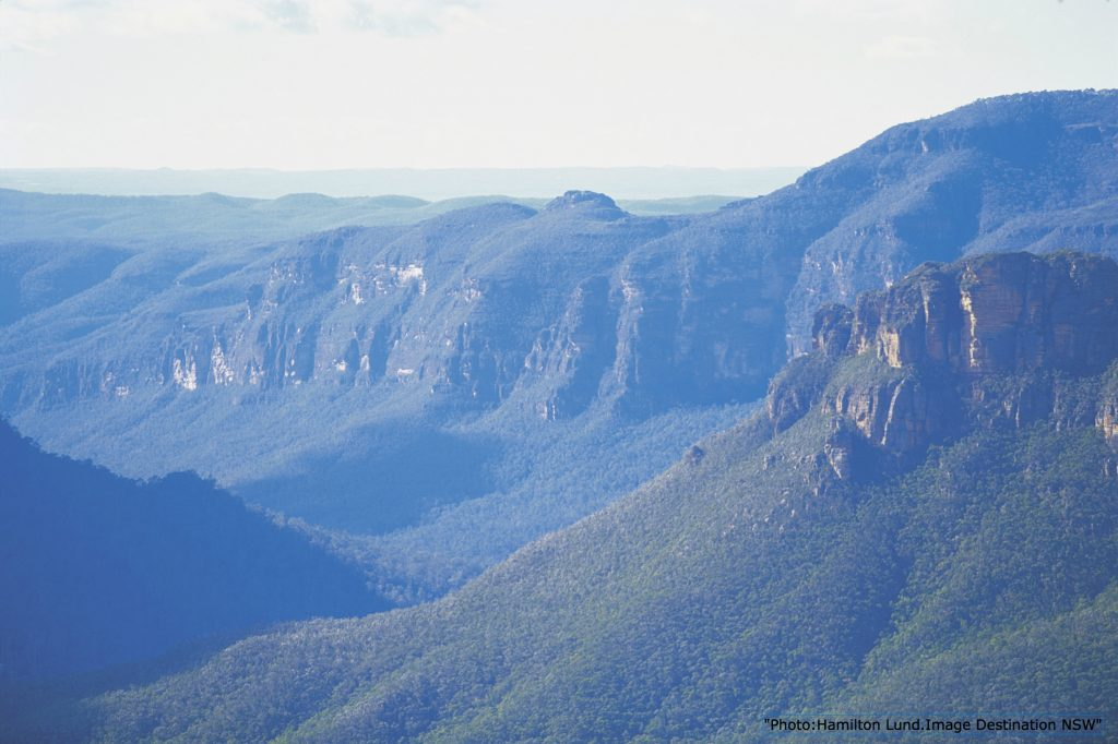 grose Valley Blue mountains near Sydney