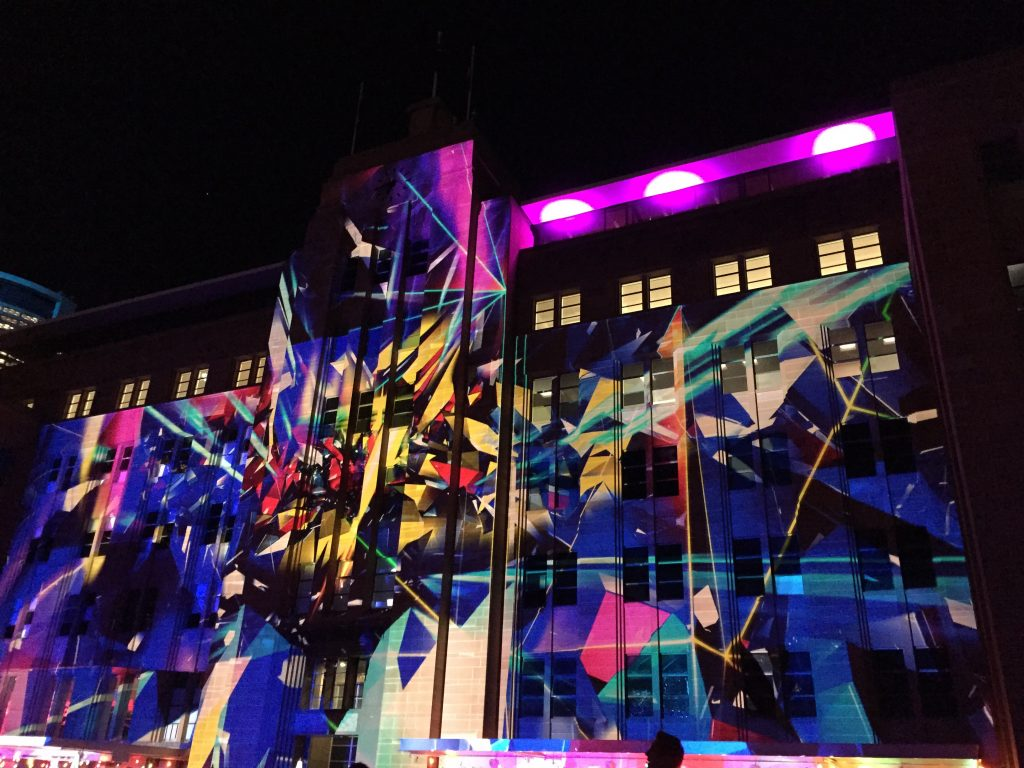 Museum of Contemporary Art during Vivid 2015