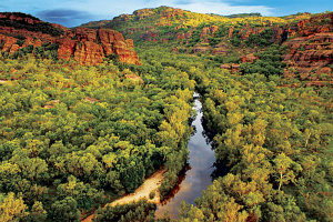 River flowing through Gorge in Kakadu