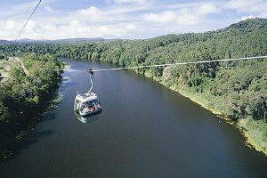 Skyrail Gondala over the Barron River