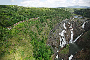 Barron Falls from Skyrail Cairns