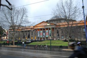 street View of the State Library of Victoria