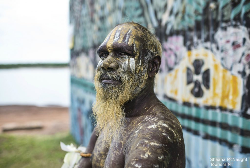 Photo of an Aboriginie