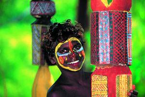 Young Tiwi islander