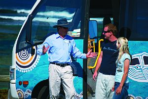 bus Guide on Rottnest island
