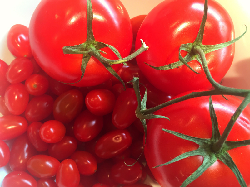 Image of beautiful red tomatoes