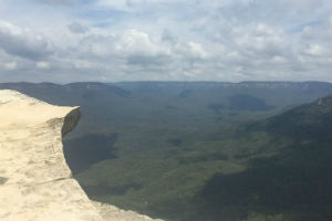 Lincoln's Rock in the Blue Mountains near Sydney