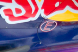 Part of Red Bull F1 logo