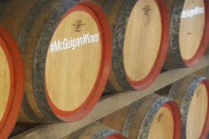 McGuigan Wines Oak barrells