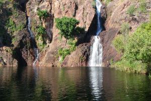 Wangi Falls in Litchfield National Park near Darwin