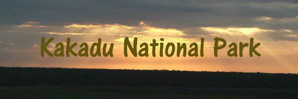 Sunset in Kakadu National Park