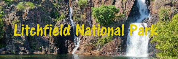 Watherfall in Litchfield National Park