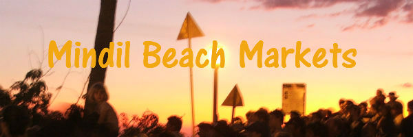 Sunsetting over the Mindil Beach Markets