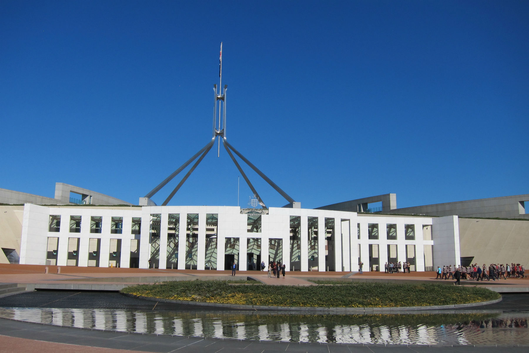 Looking at Australias Parliament House - View Australian Parliament House Images  Pictures